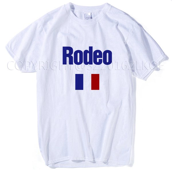 8d60522f0b1c Not My First Rodeo Cowboy T Shirt 2018 Travis Scott Rodeo Paris Tour  Madness T Shirt