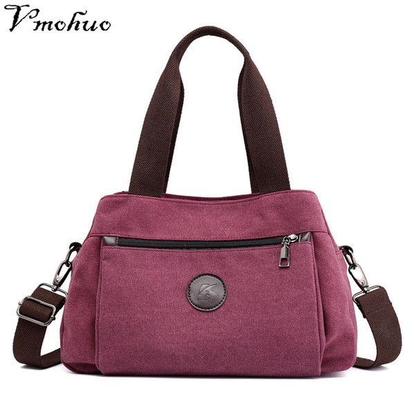 VMOHUO Women Messenger Bags Shopping Travel Handbags Nylon Ladies Shoulder Bags Female Tote Handbag Casual Large Crossbody Bag