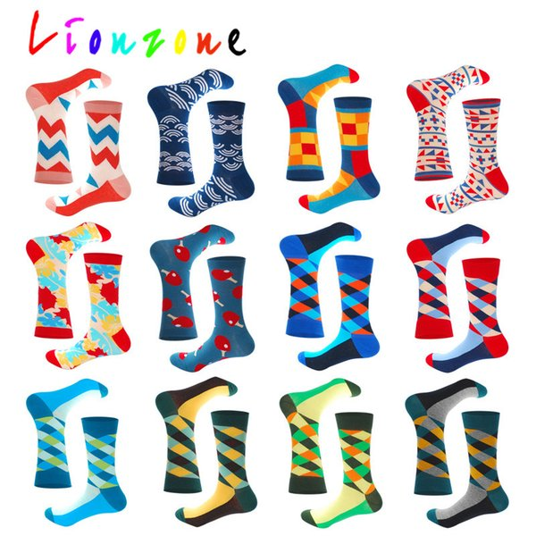 Colorful Unisex Funny Casual Crew Socks Athletic Socks For Boys Girls Kids Teenagers