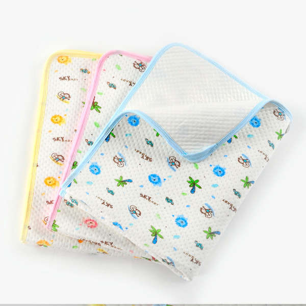 3 PZ 3 SIZE portatile Urina Mat Impermeabile Bambino Biancheria Da Letto Cambiando Pannolino Copertura Pad Nuovo AQW-5632