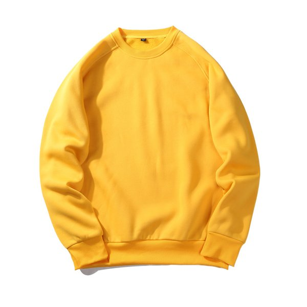Blank Cashmere Hoodies Autumn Men's Wear Solid Color Sweater Jacket Male Cotton T Shirts