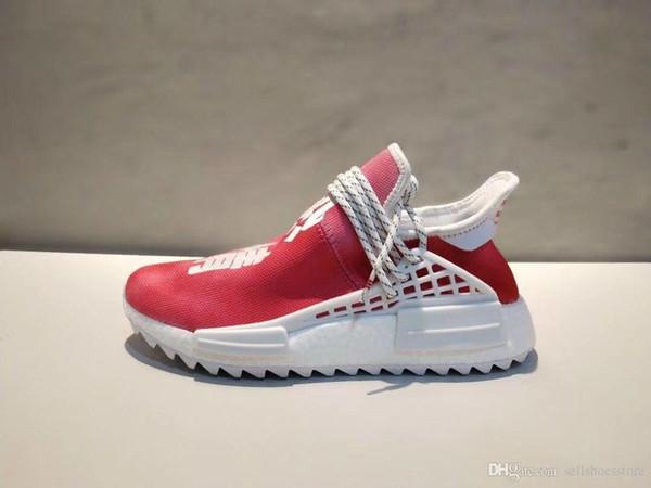 d60156abadef3 Hombres y mujeres baratos Pharrell x HuNMD Trail Pharrell Williams Runner Calzado  deportivo Zapatillas de deporte