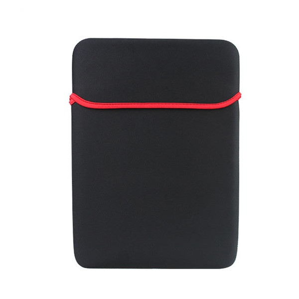"""7"""" 10"""" 15"""" Universal Sleeve Carrying Neoprene Pouch Soft Case Laptop Pouch Protective Bag For Macbook iPad Tablet PC Cover Bag 2018"""