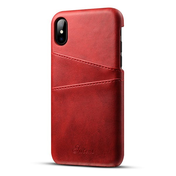 Premium quality Slim PU Leather for iphone x case luxury phone case Card Holder Wallet mobile Phone coque for iphone x case