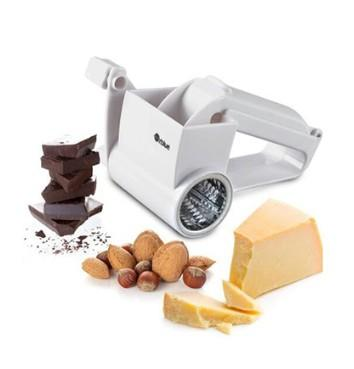 Rotary Cheese Grater Chocolate Nuts Shredder Sharp Stainless Steel Drums Razor Slicer Handheld Slicer Cheese Cutter wn352