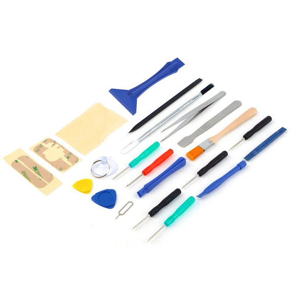 Universal 22 in 1 Open Pry Reparatur Schraubendreher Sucker Tools Kits für Handy Tablet Maschine Repair Tool Set