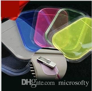 Anti Slip Tap Non Slip Haute qualité Voiture Magique Anti-Slip Dashboard Sticky Pad Support de Téléphone Adsorbabilité Gel De Silice Magic Car Sticky Pad