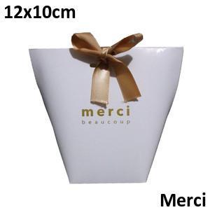 White Merci 12*10cm