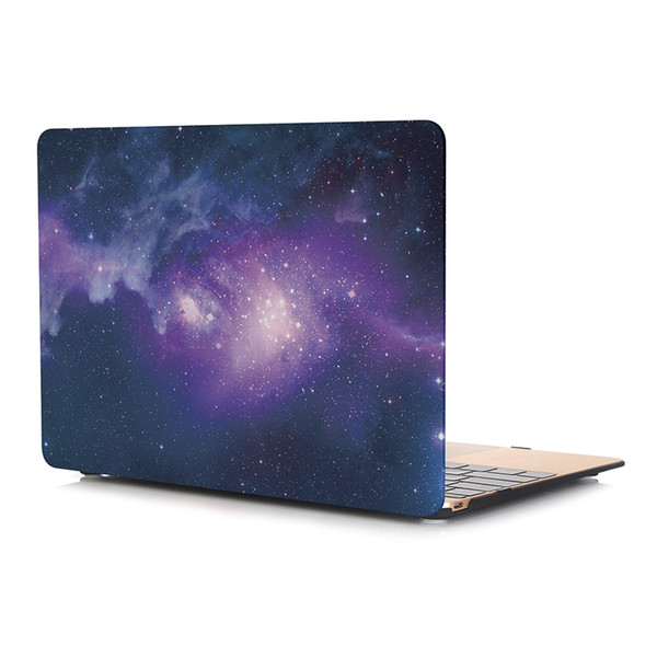 Fashion Decal Marble Plastic Hard Case for Apple Macbook 12 inch with Keyboard Cover for Macbook Laptop Protective Shell