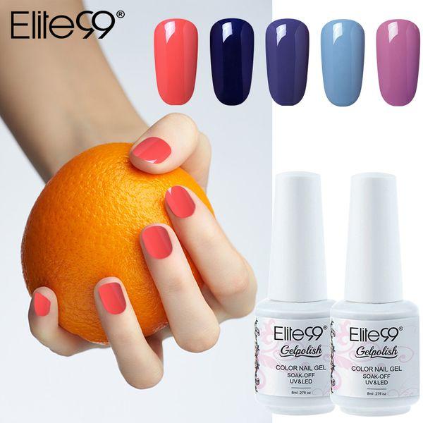 Elite99 Classic Color UV Gel Nail Polish Nail Manicure LED Lamp Gelpolish Soak Off Lucky Lacquer Semi Permanent Painting Gellak