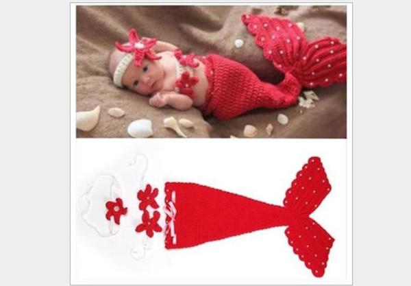Newborn Baby Mermaid photography suit Photo Props newborn photography props GA396