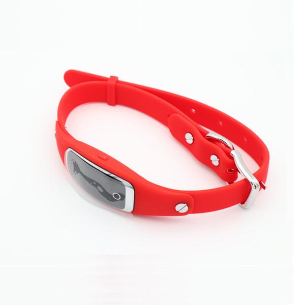 S1 Pet GPS Collar Mini Waterproof Silicon Pets Collar GPS Tracker GPS+LBS+WIFI Locator for Dog Cat Tracking Free APP