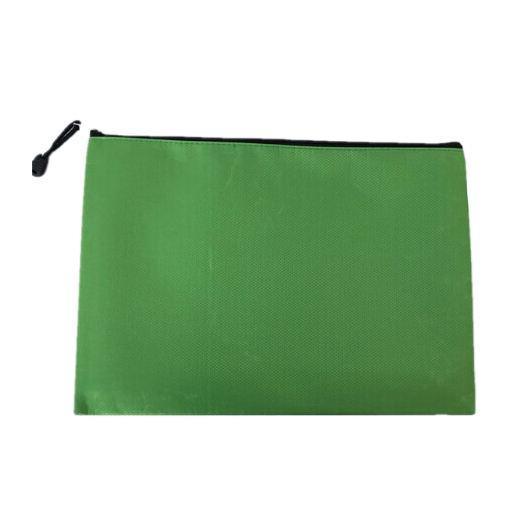 5 PACKS Hot Bai Ju Oxford Impermeable Información Oficina Archivo Archivo Bolsa Bolsa de Papelería A4 Color: Verde