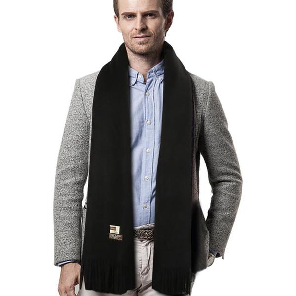 Compre Vbiger Men Winter Scarf Warm Chal Wrap Moda Con Flecos ...