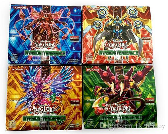 216pcs/1lot Yugioh Game Paper Cards Toys Girl Boy Yu Gi Oh Game Collection Cards Christmas Gift Brinquedo Toy