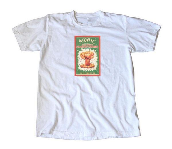 Maglietta estiva da uomo girocollo vintage da uomo Atomic Short