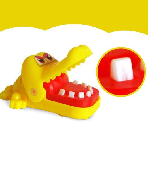 Morditi i giocattoli a mano, squali, cani, ippopotami, coccodrilli, strano nuovo giocattolo, giocattoli per bambini