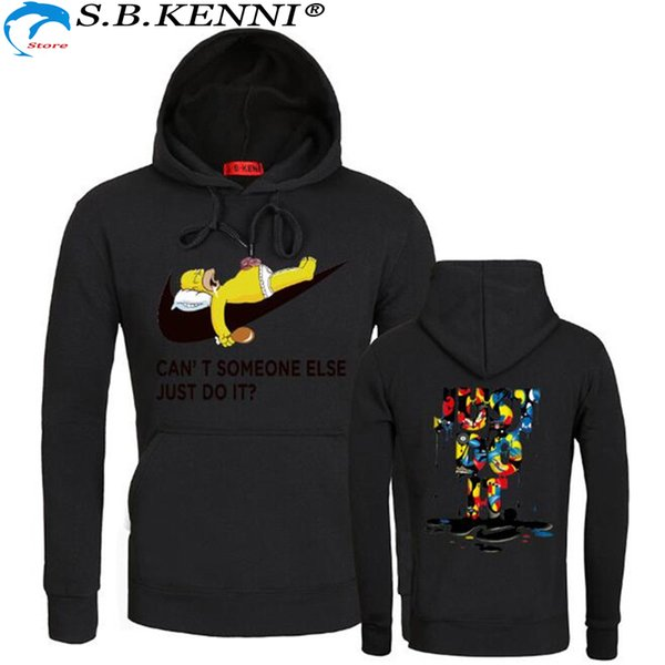 Pullover Maglie a manica lunga Camicie Uomo Hip Hop Dark Souls Pocket Camicie casual Fashion Streetwear Nuovo marchio Hoodie Hoodies
