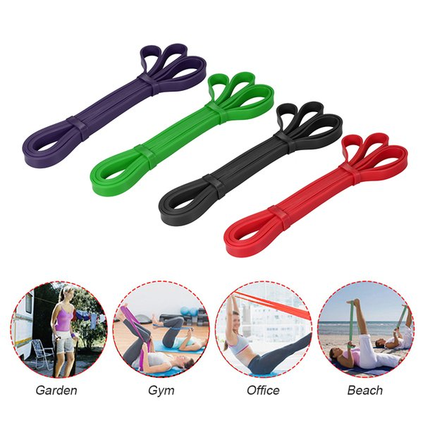 2018 Fitness Resistance Band Workout Pull Up Assist Loop Band Stretch Men Women Powerlifting Bodybulding Yoga Exercise Mobility Band
