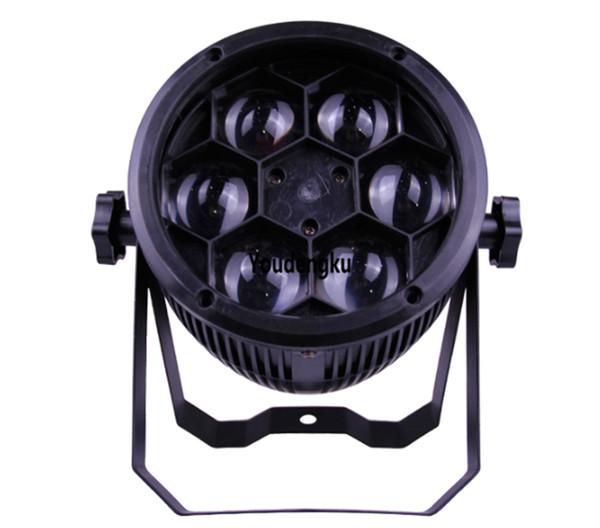 10 pieces China cheap 6x10w 4in1 rgbw beam bee eye effect par can led dj disco effect light Mini par rgbw