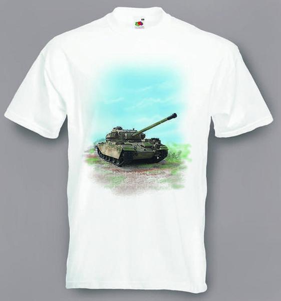 Centurion танк футболка боевой танк размер маленький до XXXL