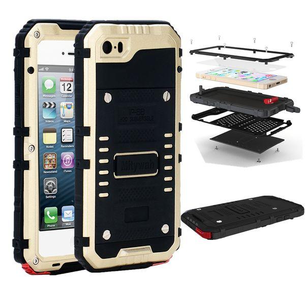 Реальный Ip68 Водонепроницаемый чехол для Iphone 5 5s 5se Fundas подводный дайвинг задняя крышка доказательство воды мешок полные защитные крышки