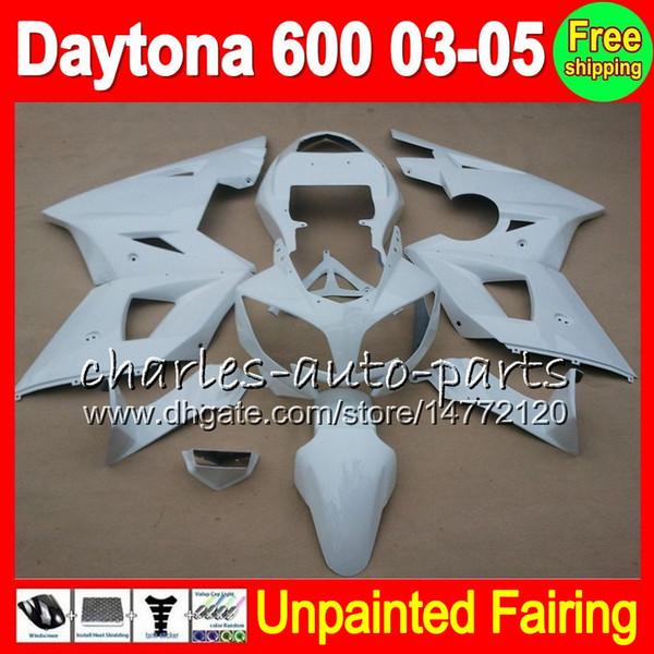 8Geschenke Unlackiertes Vollverkleidungsset für Triumph Daytona 600 03 04 05 2003-2005 Daytona600 03 04 05 2003 2004 2005 Verkleidungen Karosserie Karosserie-Set