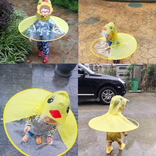 top popular Raincape Cute Creative Children Rain Coat Kids Rainwear Baby Funny Waterproof Portable Raincoat In Rain 2019