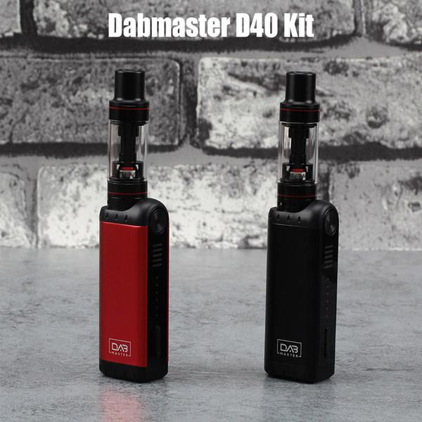 Dabmaster и D40 Kit мини ручка Vape Атомизатора 2ml более vaporzier 1.4 ом 900mah электронная сигарета Ego 510 резьба ручка комплект электронных сигарет