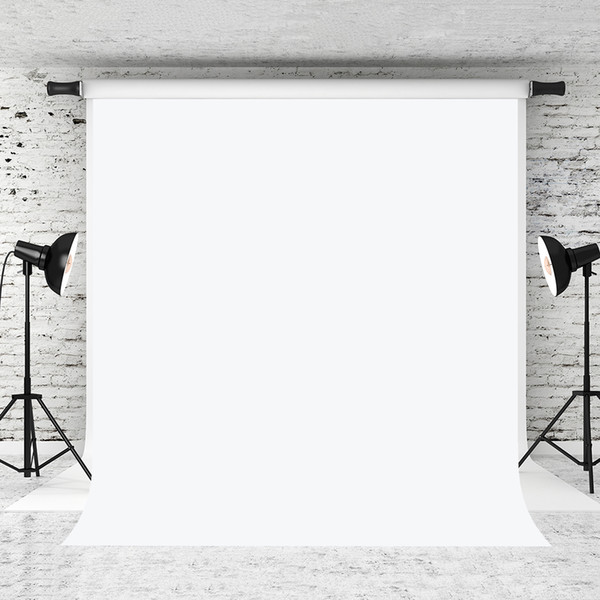 Dream 5x7ft White Vinyl Backdrops Photographer Photography Pure Color Solid Background for Photo Studio Prop Shoot
