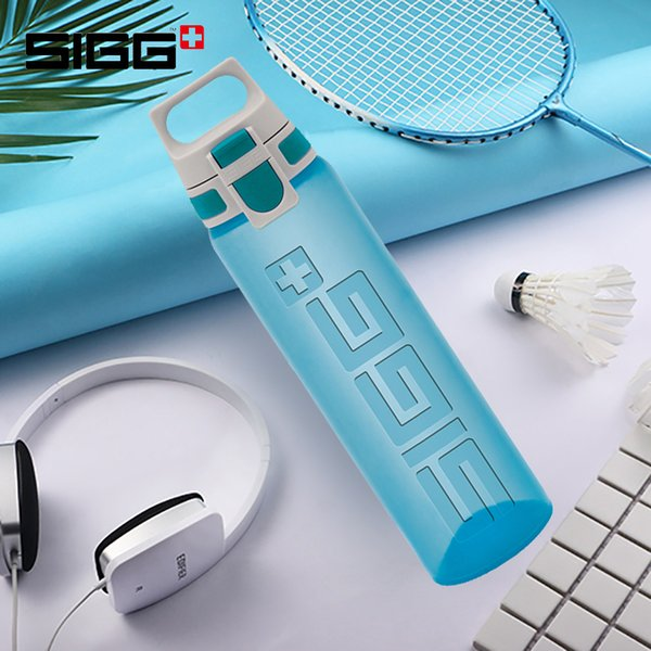 Sigg Outdoor Sports Bottle Portable Large Capacity Hand Bottle Easy Open Plastic Fitness Water 0.75 Litre