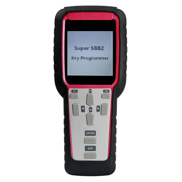 New Generation Super SBB2 Key Programmer with Multifunctions IMMO Odometer Adjustment Oil Reset TPMS EPS Handheld Scanner