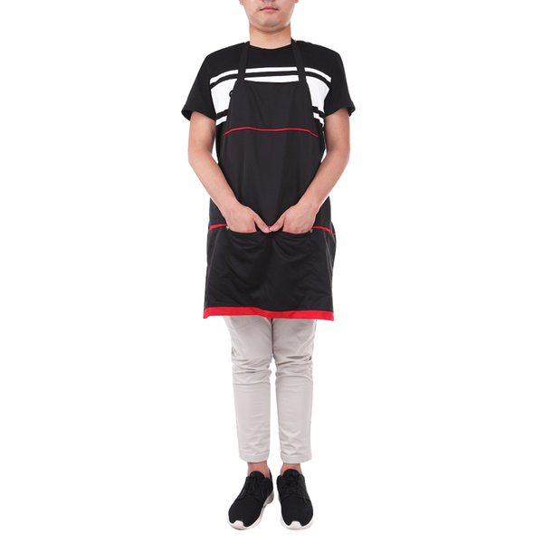 air cutting clothes 72X68cm Pro Salon Hairdresser Work Apron Capes With Pockets Hairdressing Gown Wraps Barber Hair Cutting Clothes Styli...