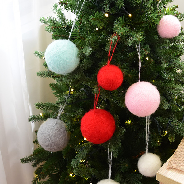 I Want A Hippocampus For Christmas.Nuchi Hanri Wind Hippocampus Wool Christmas Ball Ornament Christmas Tree Decoration Christmas Outlets Christmas Party Decoration From Huayama