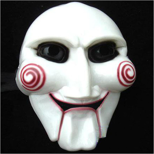 Halloween Masquerade Party male Saw Mask Full Face terror carnival masks For Party Cosplay NightClub Masquerade Decoration