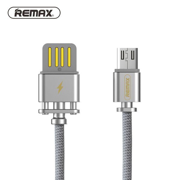 Micro USB Data Cable Cotton weave braided cable Fast Charging Sync USB Data Transfer 2.1A for xiaomi/ REMAX