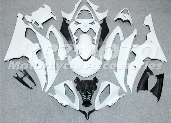 Injection mold New Fairings For Yamaha YZF-R6 YZF600 R6 08 15 R6 2008-2015 ABS Plastic Bodywork Motorcycle Fairing Kit White d13