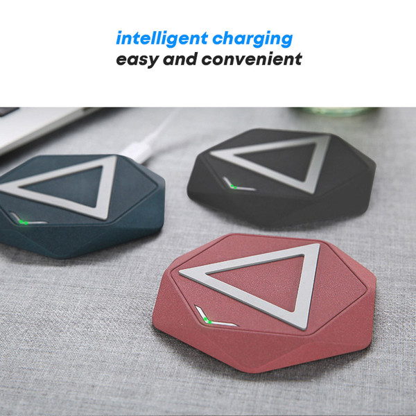 Wireless charger for iphone x pad slim qi wireless charging samsung fast charger galaxy S9 S8 Silicon portable charge with retail packing
