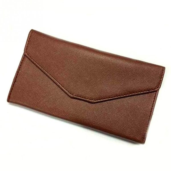 2018 nouvelles femmes sacs à main en cuir portefeuille en cuir Designer Mobile Phone Handbags Checkbook Wallet
