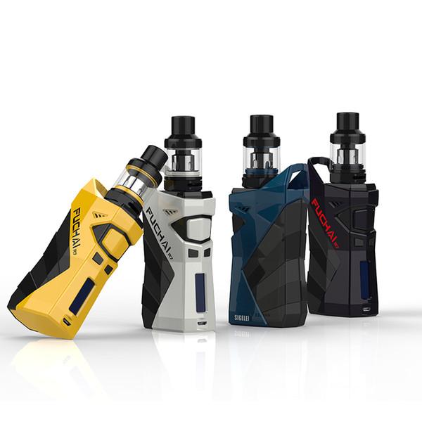 100% oringinal sigelei range Fuchai R7 Mod KIT TCR vape mod 2.5ml T4 Tank coil E Electronic cigarete e cig FUCHAI R7 full kit