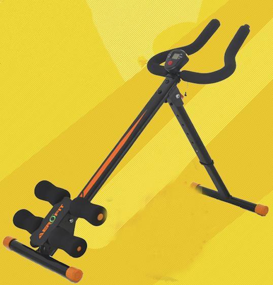Chrismas presentes novo estilo Fino Emagrecimento Roller Coaster máquina de fitness equipamentos de Fitness Musculação Máquina Abdômen Trainer