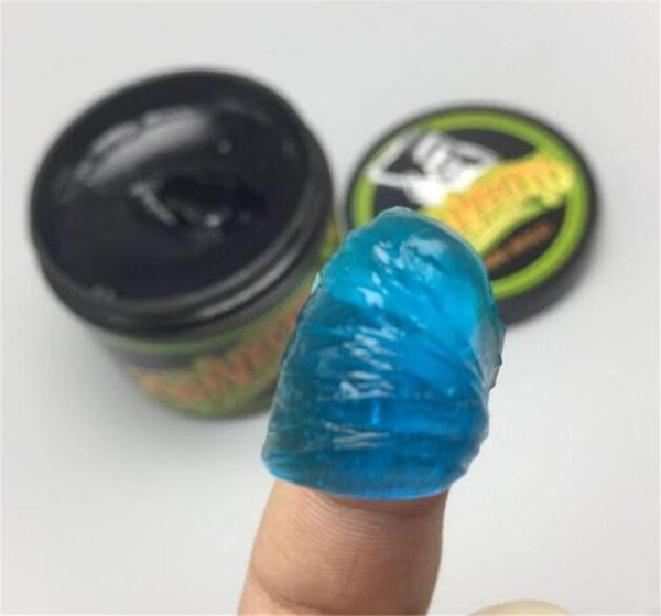 2018 hot Suavecito Pomade Firme Hold Crystal Green Strong style restoring Pomade wax big skeleton slicked back hair oil wax DHL