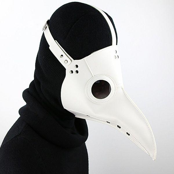 Unique Design Hand Made Leather Plague Doctor Death Mask Bird Beak Spike Steampunk Steam Punk Gothic Halloween Cosplay G219S