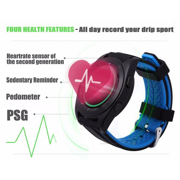 .G6 smartwatch MT2502 круглый HD экран монитор сердечного ритма сна шагомер Smartwatch фитнес-трекер для IOS Android телефон