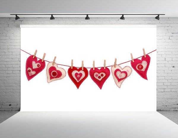 SHENGONGBAO Vinyl custom Valentine's Day theme Vinyl Photography. Backdrops Prop Custom Photography Background TTZP-64