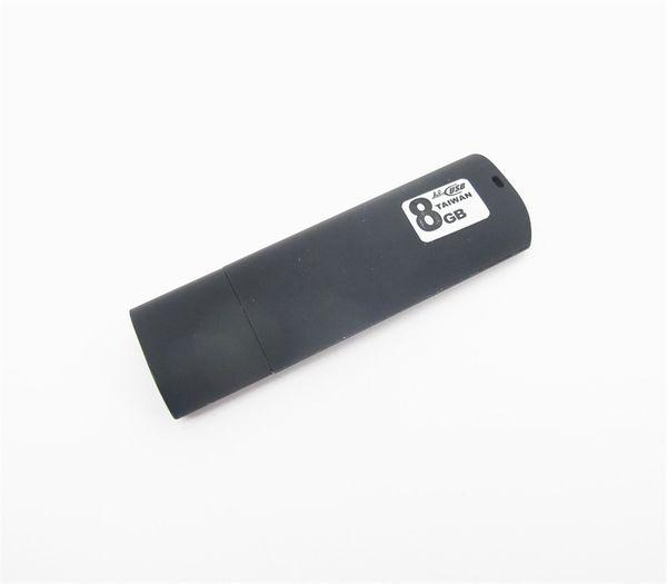 8G çok fonksiyonlu USB sopa ses kaydedici / Kayıt sırasında şarj / ışık emici malzeme / zaman dosya adı / 20 saatten fazla çalışma