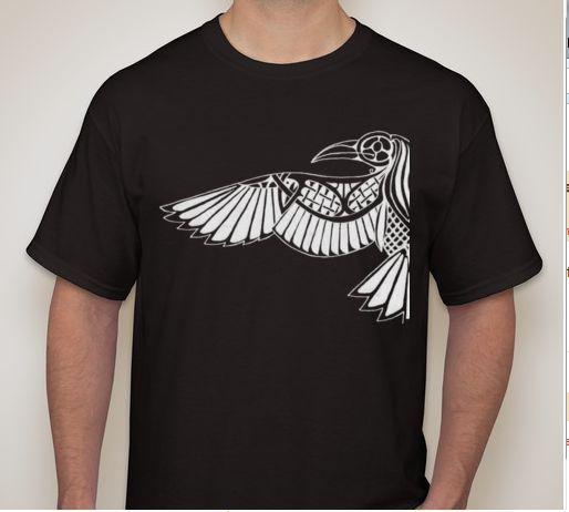 Mens or Womens Vikings Huginn Muninn Ravens 100/% COTTON S-5XL SIZE T-shirt Tee