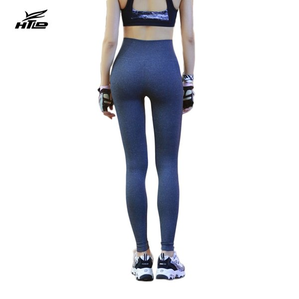 HTLD Lady Slim Leggings Women Deportivas mujer Fitness Workout Trousers Elastic High Waist Pencil Pants Leggins Jeggings GothicY1882504