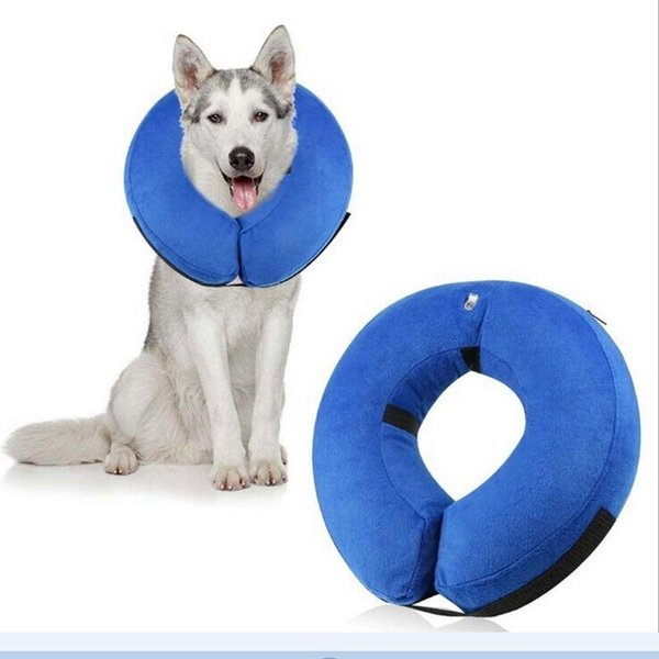 Marvelous 2019 Pet Dog Inflatable Collars Small Medium Large Zipper Plush Pvc Adjustable Anti Bite Wound Healing Protective Neck Ring Supplies From Nanfang2016 Inzonedesignstudio Interior Chair Design Inzonedesignstudiocom