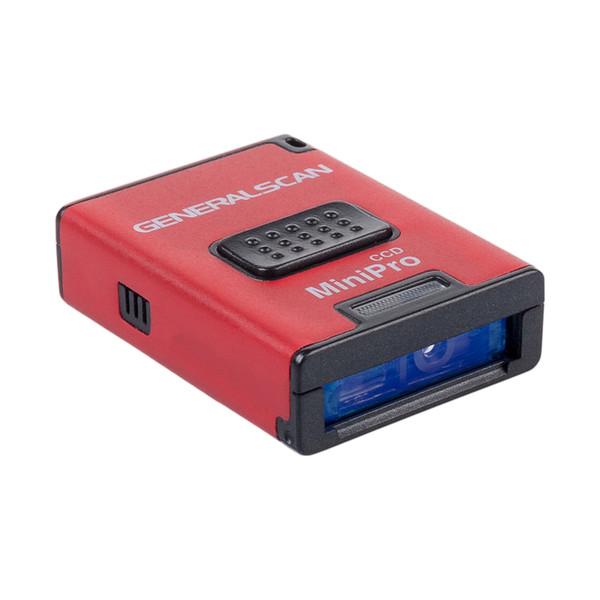 Generalscan GS M300BT-PRO 1D линейный CCD Bluetooth Беспроводной BT 4.0 мини-сканер штрих-кодов для Android iOS Win 10 (GS07)